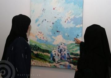 علامات فارقة .. أعمال الفنان الفلسطيني الراحل عبدالكريم السيد بمتحف الشارقة