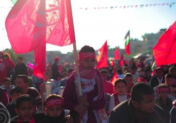 الشعبية شمال قطاع غزة تحيي ذكرى انطلاقة الجبهة بمهرجان جماهيري حاشد