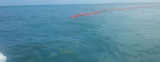 تسرّب كميات من النفط إلى خليج حيفا المحتلة