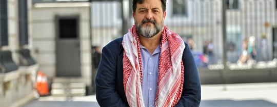 عضو البرلمان الأوروبي، الداعم للقضية الفلسطينية، مانو بينيدا