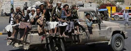مسلحو جماعة يمنية