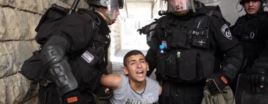 الاحتلال يعتقل الأطفال الفلسطينيين