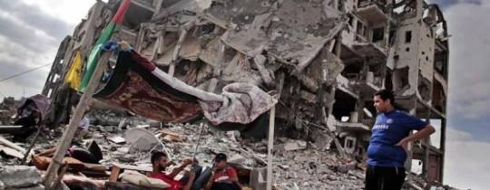 غزة بعد عدوان 2014 - ارشيف