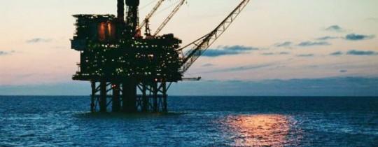 حقل النفط قبالة ساحل قطاع غزة