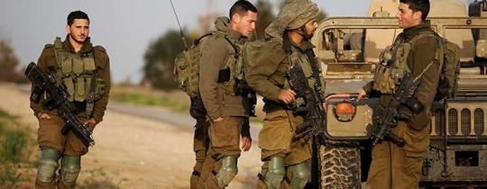 جنود الاحتلال على حدود غزة - أرشيف