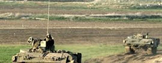 أرشيف: آليات الاحتلال العسكرية شرق غزة