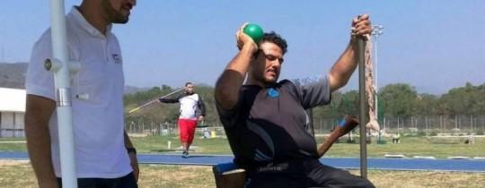 اللاعب الفلسطيني حسام عزام