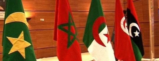 أعلام بلدان المغرب العربي