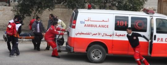 إصابة 8 مواطنين بحادث سير جنوب جنين