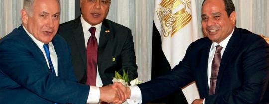 السيسي يبحث مع نتنياهو جهود إحياء عملية السلام