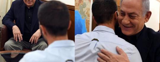 لقاء نتنياهو بقاتل الأدرنييْن - 25 يوليو 2017
