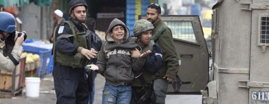 اعتقالات قوات الاحتلال للأطفال - أرشيفية
