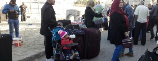 مغادرة 6 حافلات عبر معبر رفح اليوم