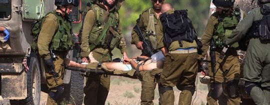 أرشيف: إصابة جندي إسرائيلي خلال العدوان على غزّة