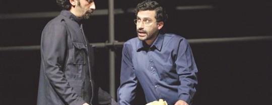 مشهد من مسرحيّة