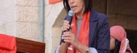 غطاس ينظم زيارة تضامنية للنائب جرار في معتقلها