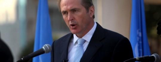 مدير عمليات الوكالة في قطاع غزة روبرت تيرنر