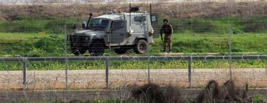 جيش الاحتلال على حدود غزة - أرشيف
