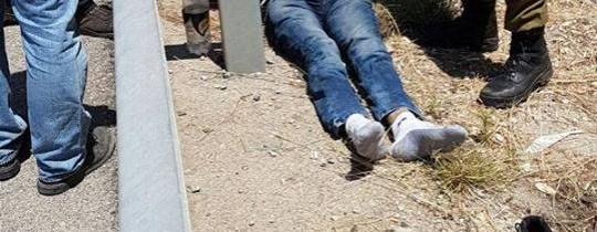 الشاب الذي اعتقلته قوات الاحتلال