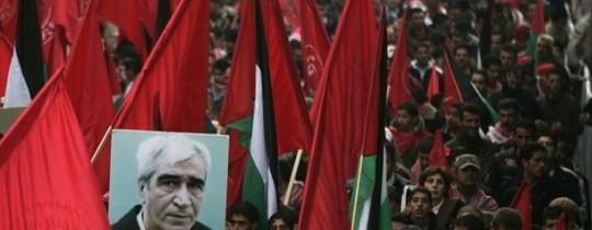 لهذة الجبهة انتمينا انتمينا و ننتمي لفلسطين
