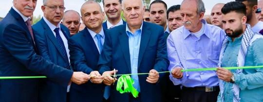 افتتاح المضمار الرياضي في خضوري