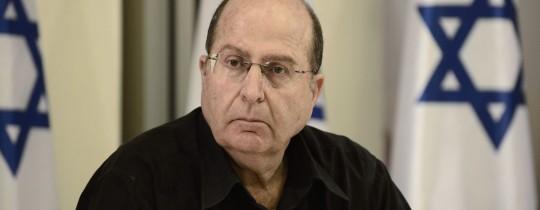 وزير جيش الاحتلال موشيه يعلون