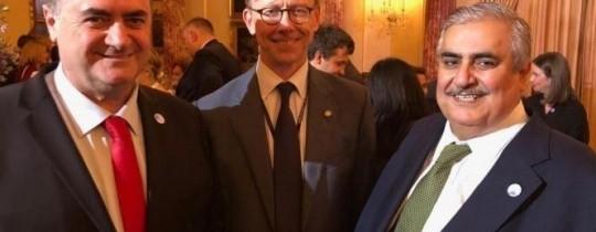 وزير الخارجية البحريني وكاتس