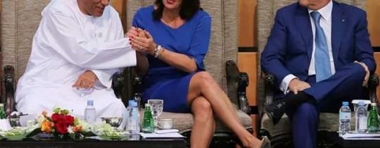 وزيرة الثقافة الصهيونية في أبو ظبي