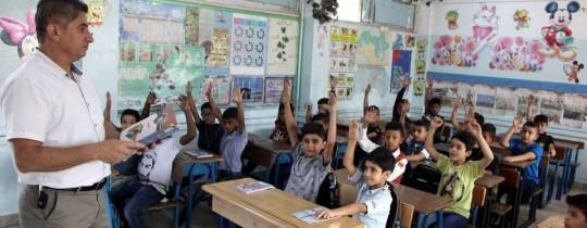 مدرسة في الأردن- ارشيف