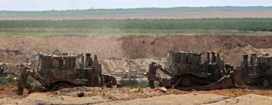 عمليات توغل لقوات الاحتلال على أطراف قطاع غزة (أرشيف)