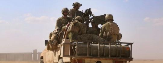 قوة أمريكية على الحدود السورية