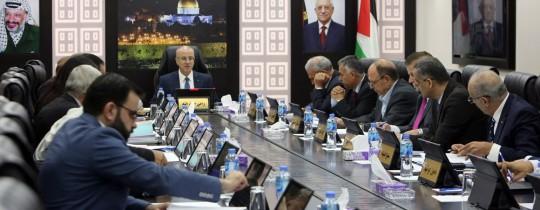 مجلس الوزراء الفلسطيني (أرشيف)