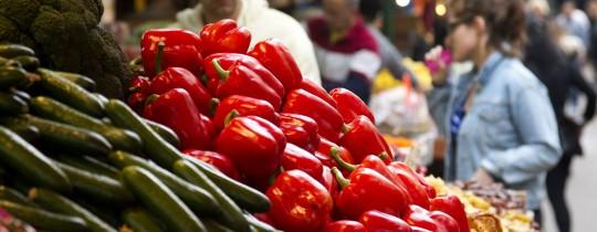 سوق خضروات - تعبيرية