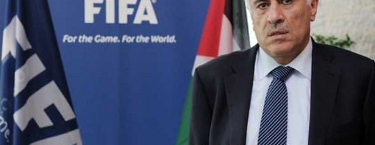 -رئيس-الاتحاد-الوطني-الفلسطيني-لكرة-القدم-اللواء-جبريل-الرجوب