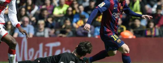برشلونة في صدارة الدوري الإسباني