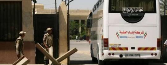 مغادرة 7 حافلات في اليوم الأخير من فتح معبر رفح