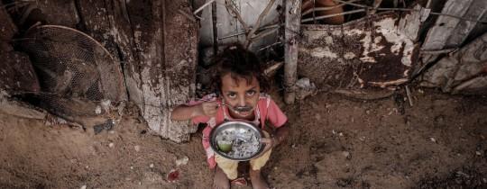 تعبيرية - طفلة من غزة