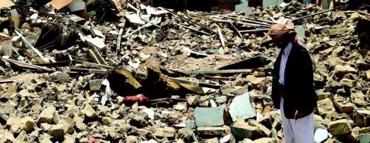 آثار العدوان السعودي على اليمن