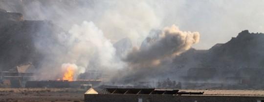 غارات عاصفة الحزم في اليمن