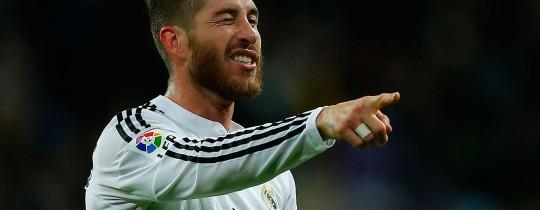مُدافع فريق ريال مدريد الإسباني لكرة القدم وقائده اللاعب سيرجيو راموس
