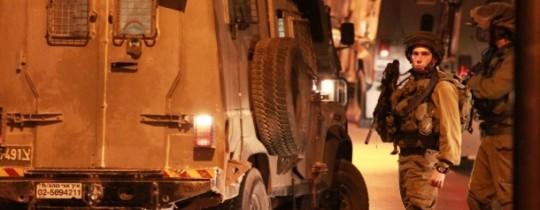 جنود الاحتلال يداهمون مدن الضفة