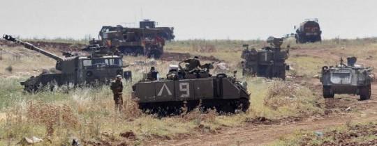 دبابات جيش الاحتلال