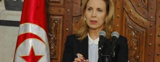 وزيرة السياحة التونسية سلمى اللومي