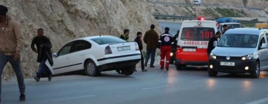 حادث سير في نابلس