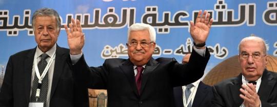 محمود عباس في جلسة المجلس الوطني - 30 ابريل 2018