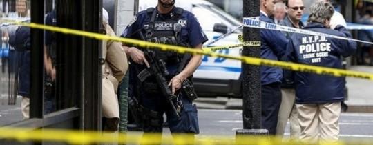 قوات الأمن والشرطة طوقت مكان الحادث