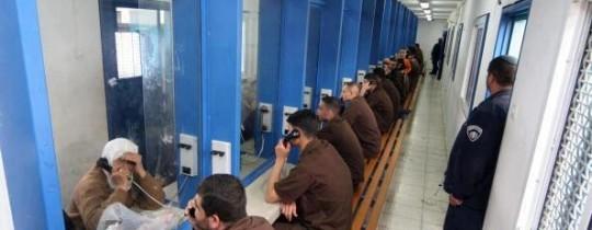 زيارة للأسرى في سجون الاحتلال