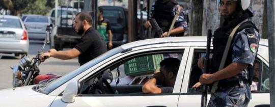الأمن في غزة