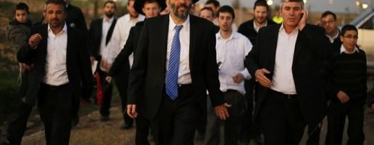 زعيم حزب شاس أري درعي