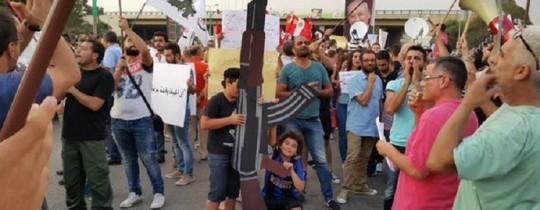 اعتصام لمنع ادخال جثة انطوان لحد الى لبنان